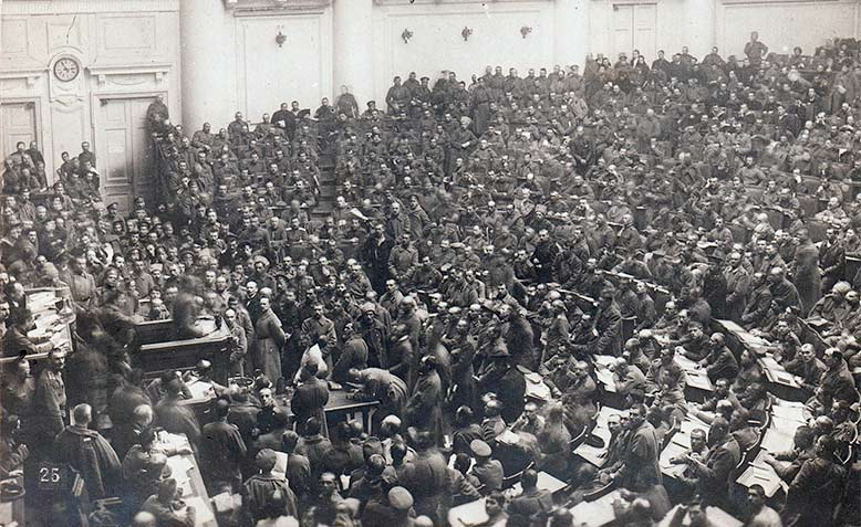 St Petersburg Soviet Assembly