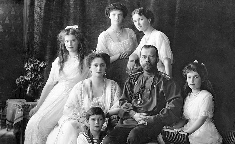 The Russian Imperial Family, 1913. Source: Wikimedia
