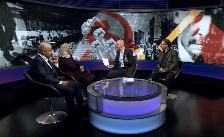What makes for a Revolution? Debate on BBC Newsnight. Photo: BBC
