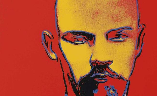 Andy Warhol's Lenin